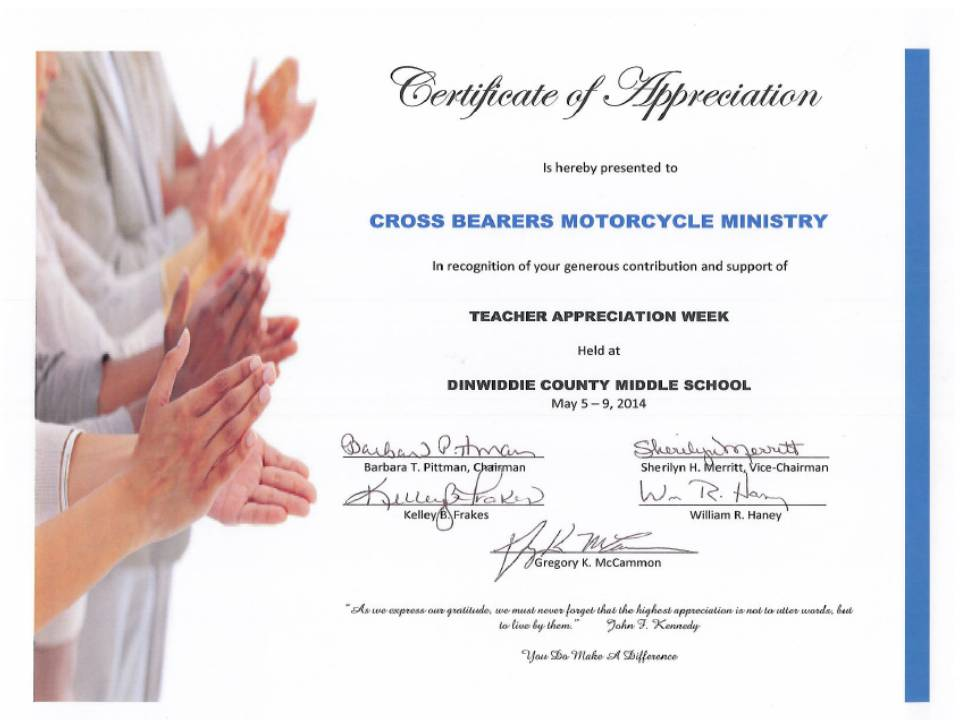 CB Appreciation Certificate - Copy - Copy