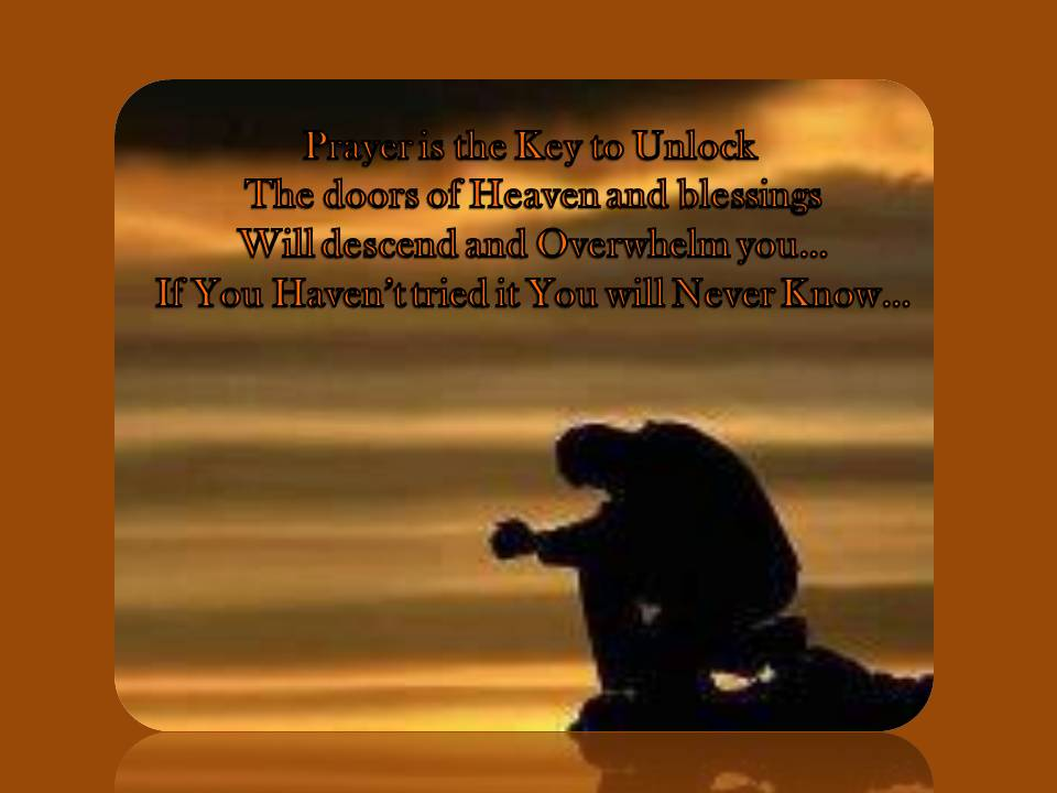 heaven prayer